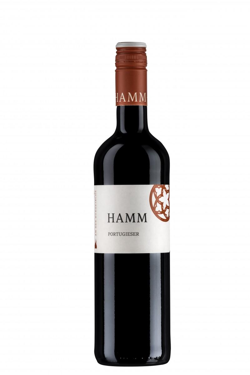 Portugieser mild Weingut Hamm Ingelheim Rheinhessen Deutscher Wein Selection Kammerpreismünze DLG